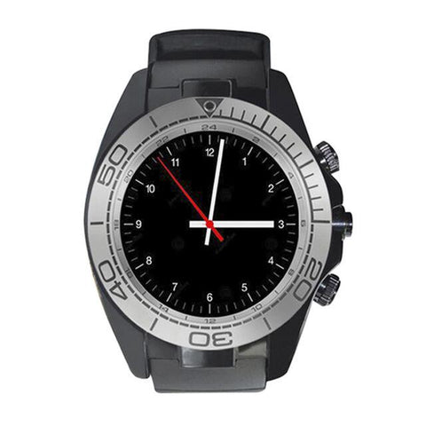 New Bluetooth Clock Smart Sports Watch  Men for Android Support SIM TF Card Alarm Clock Camera