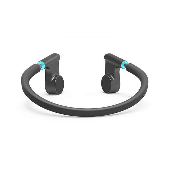 New Wireless Sweatproof Sports Bone Conduction Headphones Bluetooth Headset with HD Stereo & Mic for Running Cycling