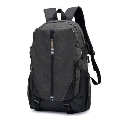 NEW ARRIVAL - Ultra Light Canvas External USB Charging Smart Casual Backpack for Travel Daypacking