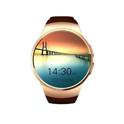 NEW ARRIVAL -  Full Round IPS Heart Rate Smart Watch for IOS and Android Samsung Intelligent Watch