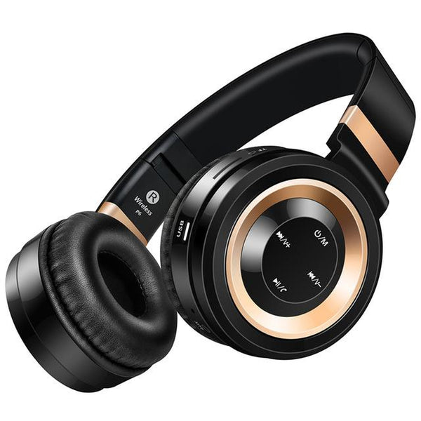 NEW ARRIVAL - Studio Bluetooth Headphones Wireless with Microphone Support TF Card FM Radio Stereo Headset
