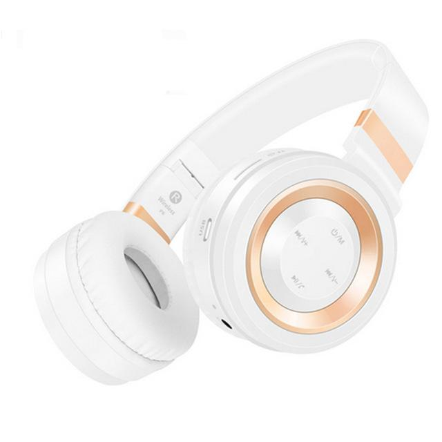 New Studio Bluetooth Headphones Wireless with Microphone Support TF Card FM Radio Stereo Headset