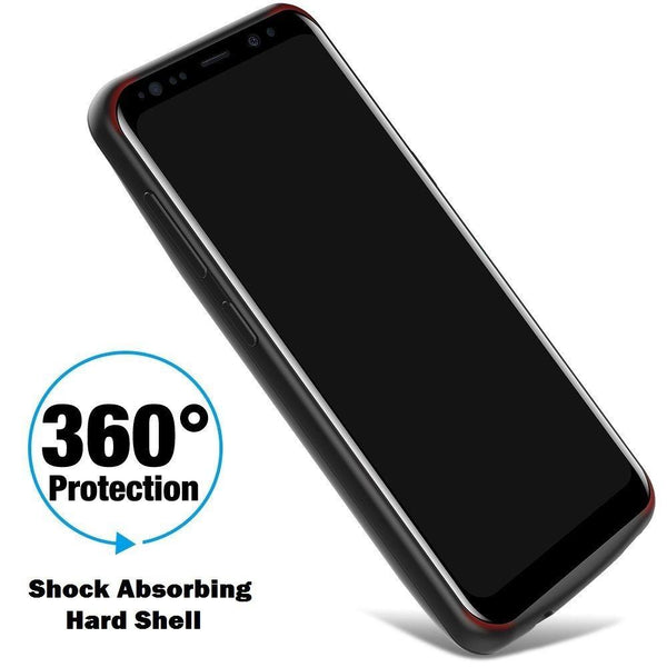 New 5000mAh Rechargeable Charging Power Bank Cover External Battery Case for Samsung S8 S8 Plus