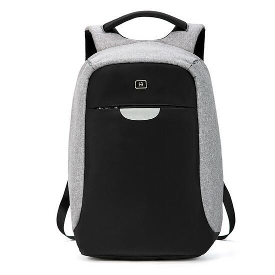 New Oxford Water-Resistant 15 Inch Laptop School Backpack Bag with Battery Slot for USB Charging