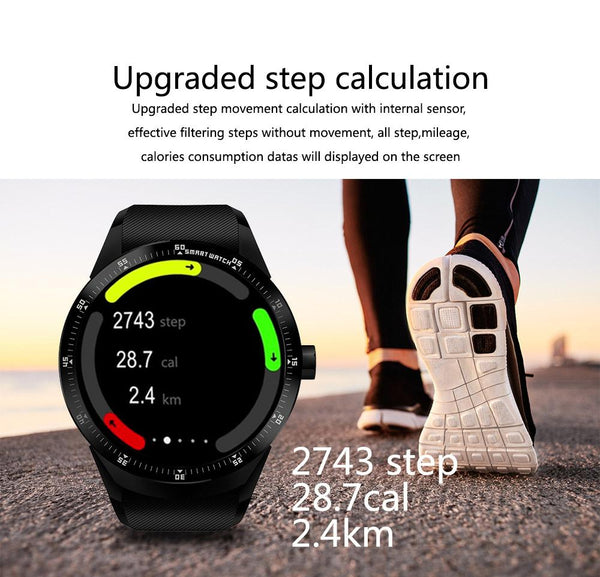 New Business 3G Android Smart Watch with WIFI GPS Bluethooth Sim Card Support Heart Rate Monitor