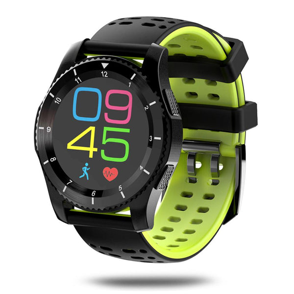 New Smart Watch Phone GPS Heart Rate Monitor Pedometer Blood Press Pedometer Stopwatch for Android IOS