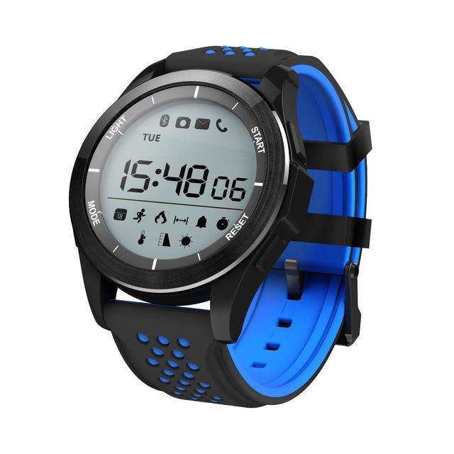 New Outdoor Altitude Meter Smart Watch with Waterproof Pedometer Fitness Tracker Wristwatch for IOS Androids