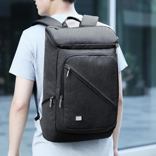 New Design Light USB Recharging Business Fit  Backpack for 15.6 inches Laptop Short Distance Travel Bag