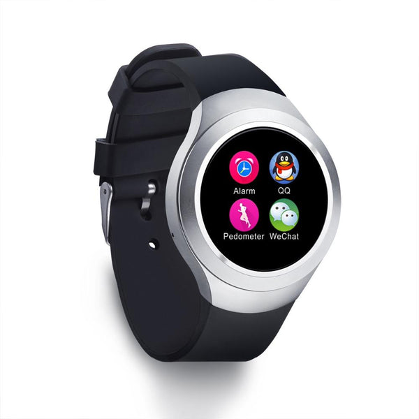 New IPS Round Screen Bluetooth Anti-Lost Android Sport Smart Watch Clock Support SIM Card TF card