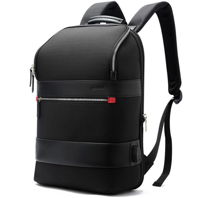 New Traveler Capacity USB External Charge 15.6 Inch Laptop Anti-theft Shoulders Waterproof Backpack