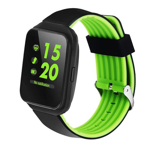 New Bluetooth Sports Smartwatch Heart Rate Blood Pressure Monitor Smart Band for Android IOS