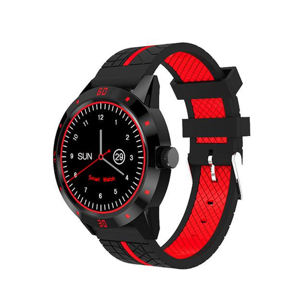 New Sports Bluetooth Smart Watch with Remote Camera Control Pedometer Sports Fitness Heart Rate Tracker
