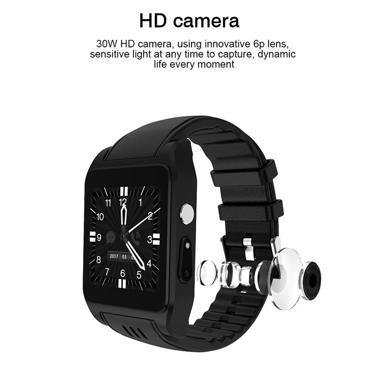 New Casual Bluetooth Smart Watch Android 4 4 2 Camera Support 3G Wifi  Single Nano SIM Card