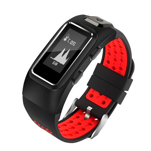 New GPS Sports Smart Band Heart Rate Sleep Monitor Smart Wristband IP68 Waterproof Call SMS Display Smart Bracelet