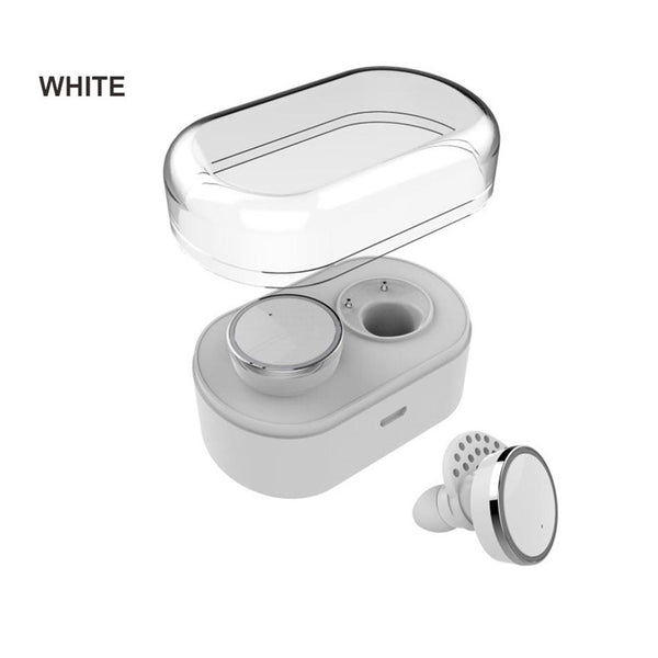 New Bluetooth Earphones True Wireless Stereo Earbuds Mini In-Ear Headsets Left Right Channel Double  for Phones