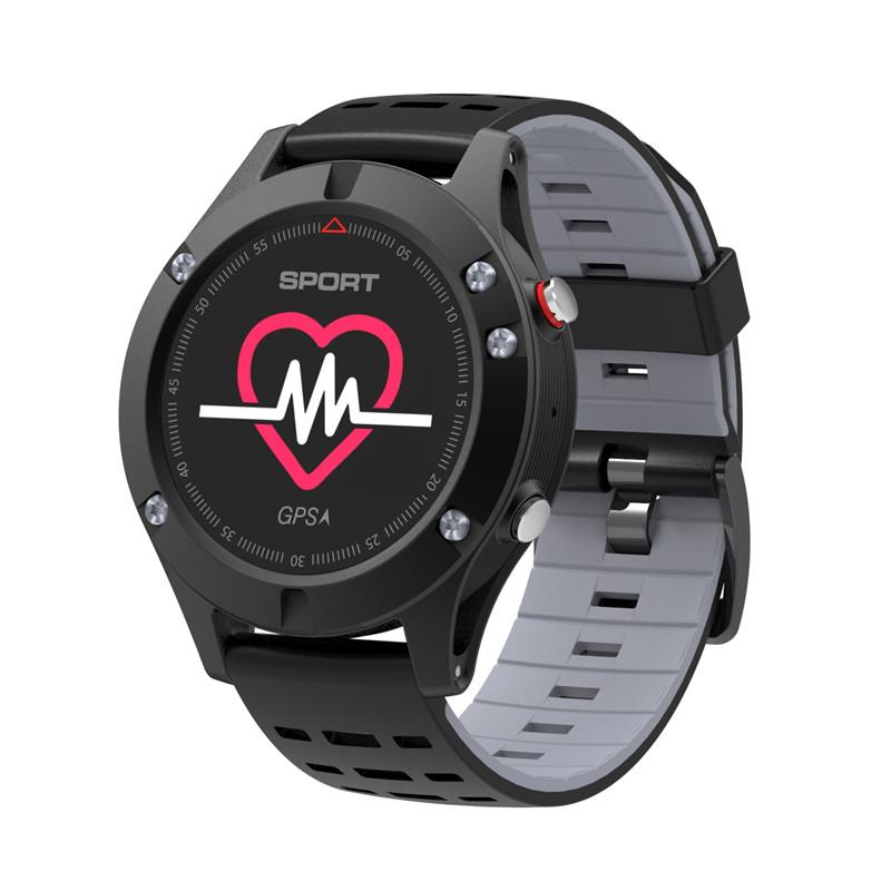 New OLED Real-time Heart Rate Sleep Monitor GPS Multi-Sport Mode Outdoor Altimeter Bluetooth Smart Watch IOS Android