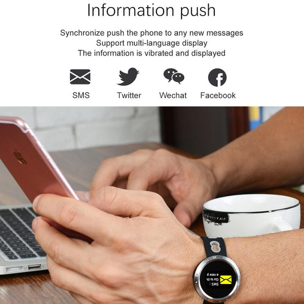New Intelligent Color Screen Smart Band IP68 Waterproof Heart Rate Blood Pressure Oxygen Monitoring Bracelet