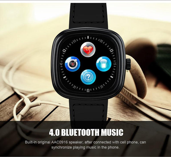 New Luxury Sports Bluetooth Smart Watch with Heart Rate Monitor Smartwatch Clock Touch Screen Android