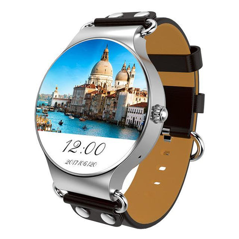 New Luxury 3G Android Smartwatch Phone with Quad Core 1.0GHz 8GB ROM GPS Heart Rate Pedometer