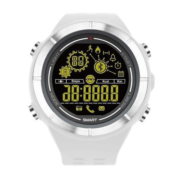 New Sports Bluetooth Smartwatch Waterproof Wristwatch with Fitness Tracker Pedometer Stopwatch for iOS android phones