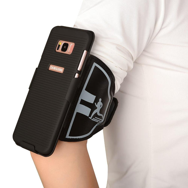 New Sport Gym Running Exercise Armband Phone Case Cover Holder Arm Band For Samsung Galaxy S8 Series