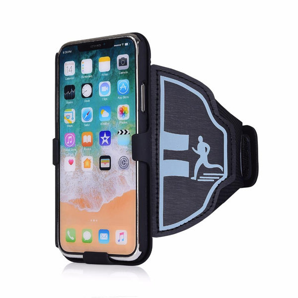 New Gym Running Exercise Mobile Phone Case Armband Pouch Arm Band For iPhone Android Windows