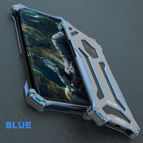 New Luxury Design Metallic Protective Armor Bumper Case for Samsung Galaxy S20 / S10 / Note 10 Series