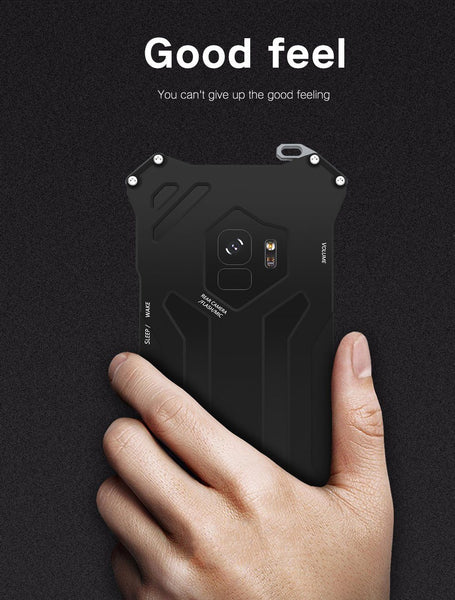 New Luxury Design Metallic Protective Armor Bumper Case for Samsung Galaxy S9 / S9 Plus / Note 9