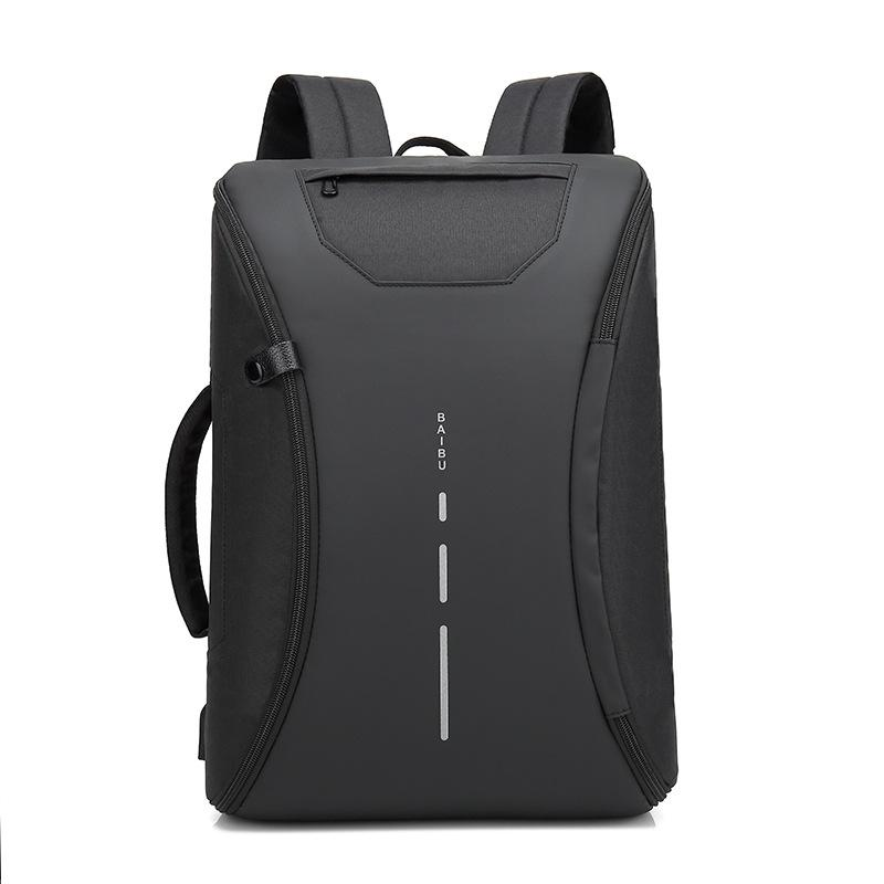 f7566922266b New Smart Multifunctional Laptop Computer Backpack Casual Business Travel  Bag with External USB Charger for Mobile Phones