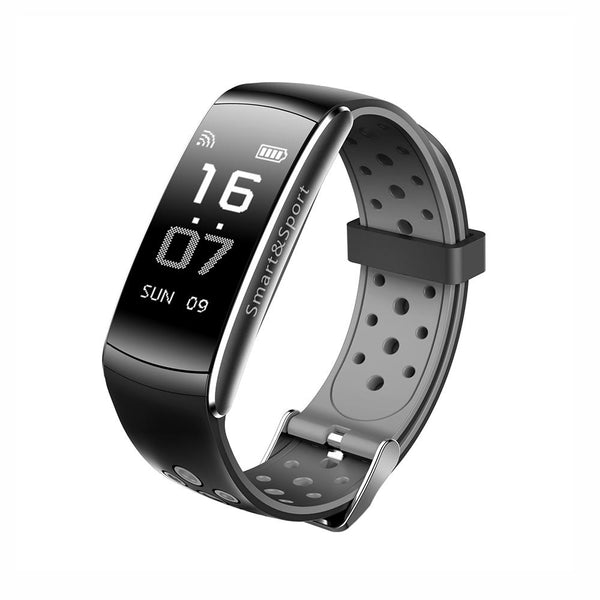 New IP68 Waterproof Smartband Watch Blood Pressure Heart Rate Monitor Smart Bracelet Fitness Tracker Bluetooth Wristband