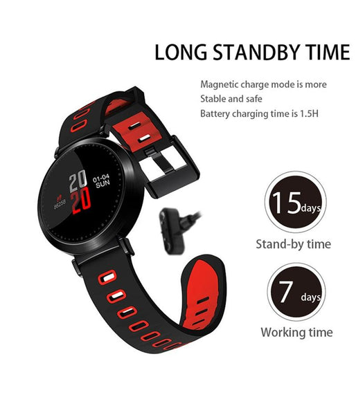 New Colored Screen Sport Smart Band with Blood Oxygen Heart Rate Blood Pressure Monitor Pedometer for IOS Android Windows