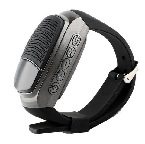 New Bluetooth Speaker Hands-Free Wireless Speakers Smart Watch With FM Radio Time Display