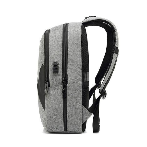 New Large Capacity 15.6 Inch Nylon Water-Repellent Laptop Business Casual Travel Computer Bag Smart Backpack