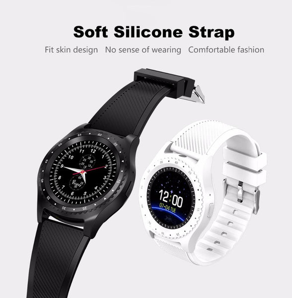 New Fitness Sports Smart Watch w/ Camera Bluetooth Wristwatch Tracker Smartwatch for Android IOS phone