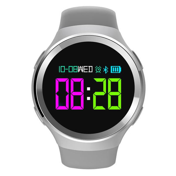New Sports 0.95inch OLED Smart Watch Heart Rate Blood Oxygen Pedometer Caller Message Show Smartwatch