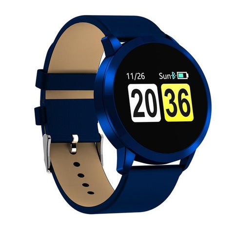 New Multi-Purpose Fashion 0.95 Inch Smart Watch OLED Color Screen Blood Pressure Heart Rate for Android iOS Windows Wristwatch