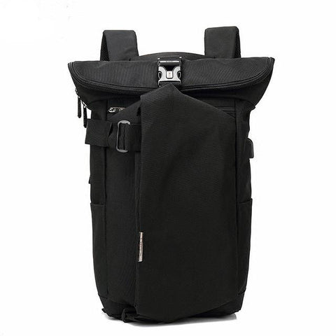 New Leisure Wearable Breathable Anti-Theft USB Laptop Backpack Computer Urban Business Travel