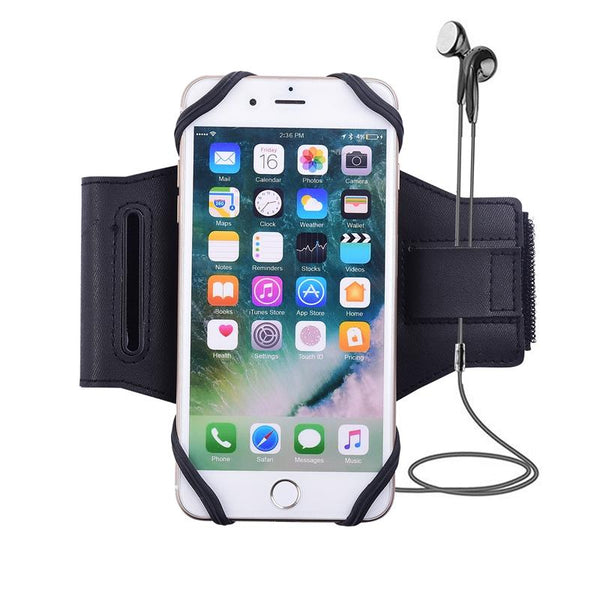 New Universal Magnetic Sport Running Arm Case Phone Holder Armband For iPhone Samsung Xiaomi