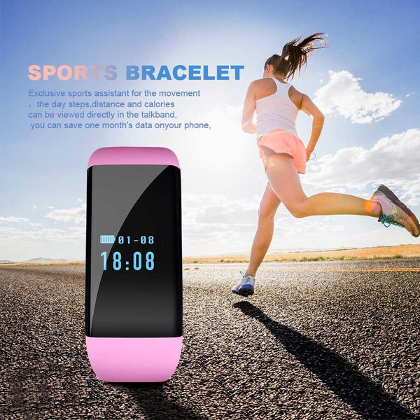 Ultra Light Fashion Smart Watch Fitness Activity Tracker with Pedometer Heart Rate Monitor for IOS Android