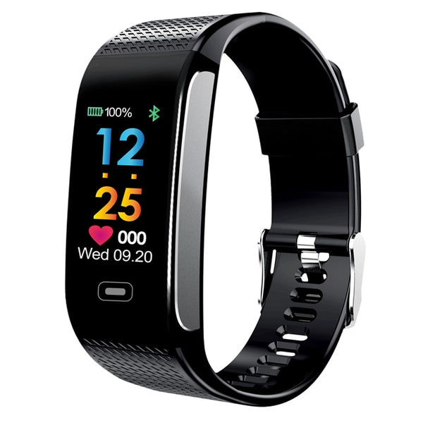 New Heart Rate Monitor IP67 Wrist Watch Fitness Bracelet Tracker Pedometer Smartwatch For iPhone Androids