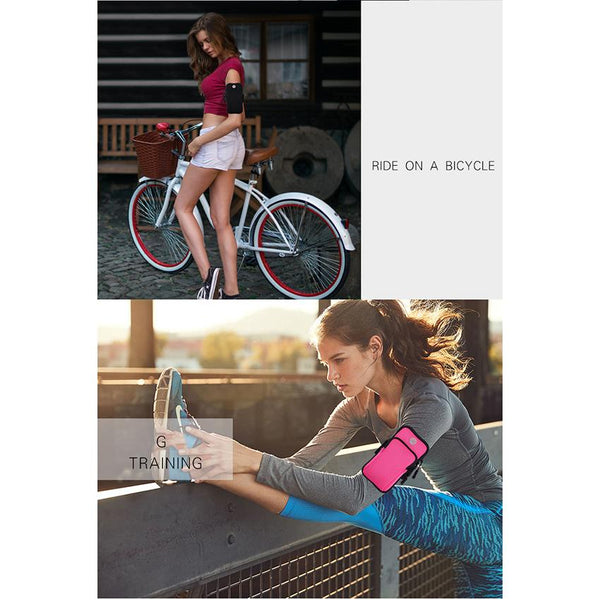 New Universal Running Workout Sport Armband Cell Phone Holder Pouch For iPhone Samsung Android 4-6.2 Inches Cellphones