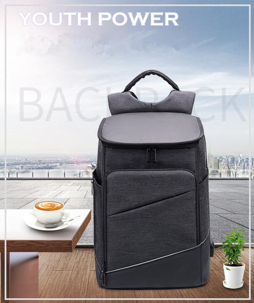 New 15.6 Laptop Backpack Anti-Thief Multifunction USB Charging Mochila Leisure Business Travel Urban Bag