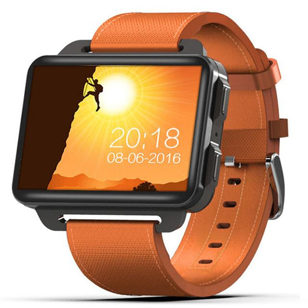"New 2.2"" IPS Screen 1GB/16GB Quad Core Android Smartwatch with Bluetooth GPS Wifi for Andriod IOS Windows"