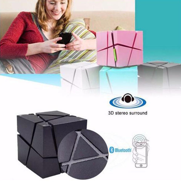 New Wireless Bluetooth Speaker With Microphone LED Flashing Light Subwoofer Hifi Surround Sound For Android iPhone