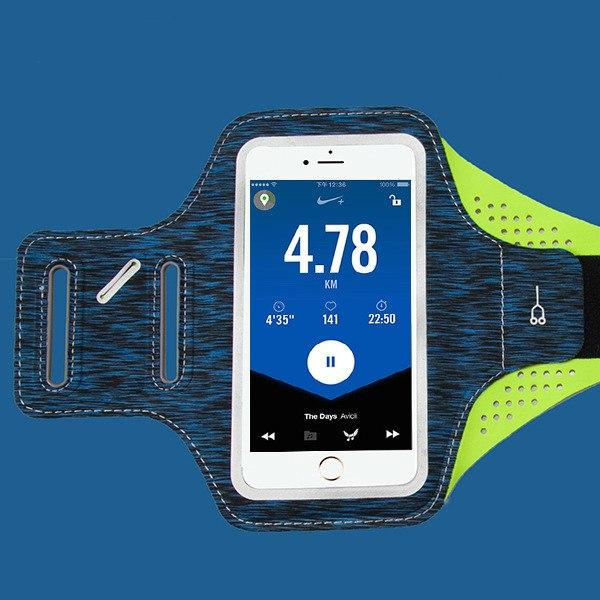 New Slim Water-Resistant Sport Arm Bag Outdoor Running Mobile Phone Bag Sleeve for iPhone Android Windows