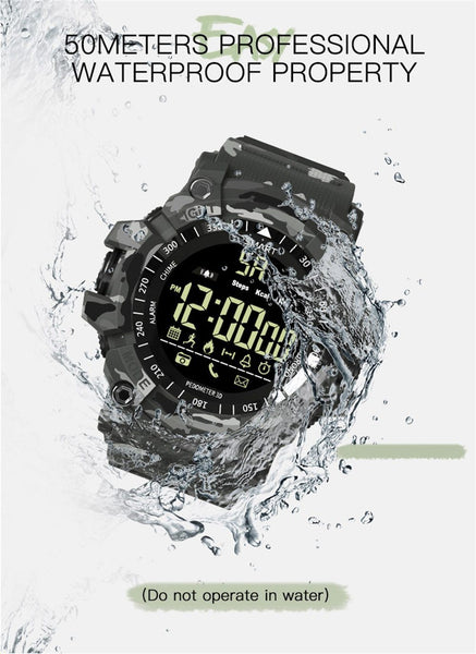 New Smart Watch Men Sport Watch 5ATM Waterproof Activity Tracker Bluetooth Watches For Android & IOS