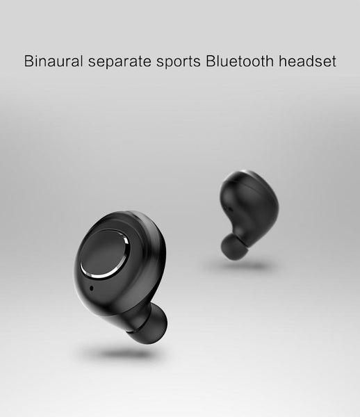 New Bluetooth Earphones Water-Resistant Headset True Wireless Earbuds Mini Stereo Music With Mic with Charging Box for iPhone Android