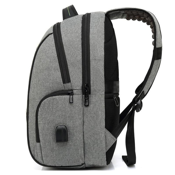 New Large Capacity Anti-Theft 15.6'' Laptop Backpacks Water-Repellent USB Charge Leisure Travel Backpack