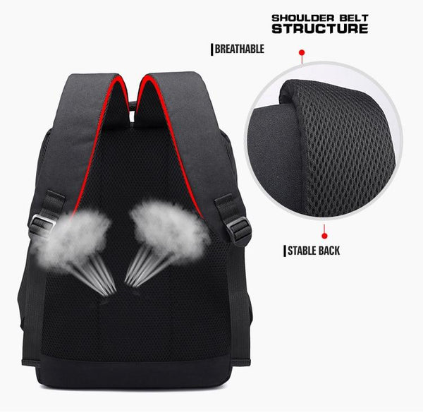 New Multifunctional USB Port Charging Men 15'' Laptop Backpacks Business Bag For Men Women
