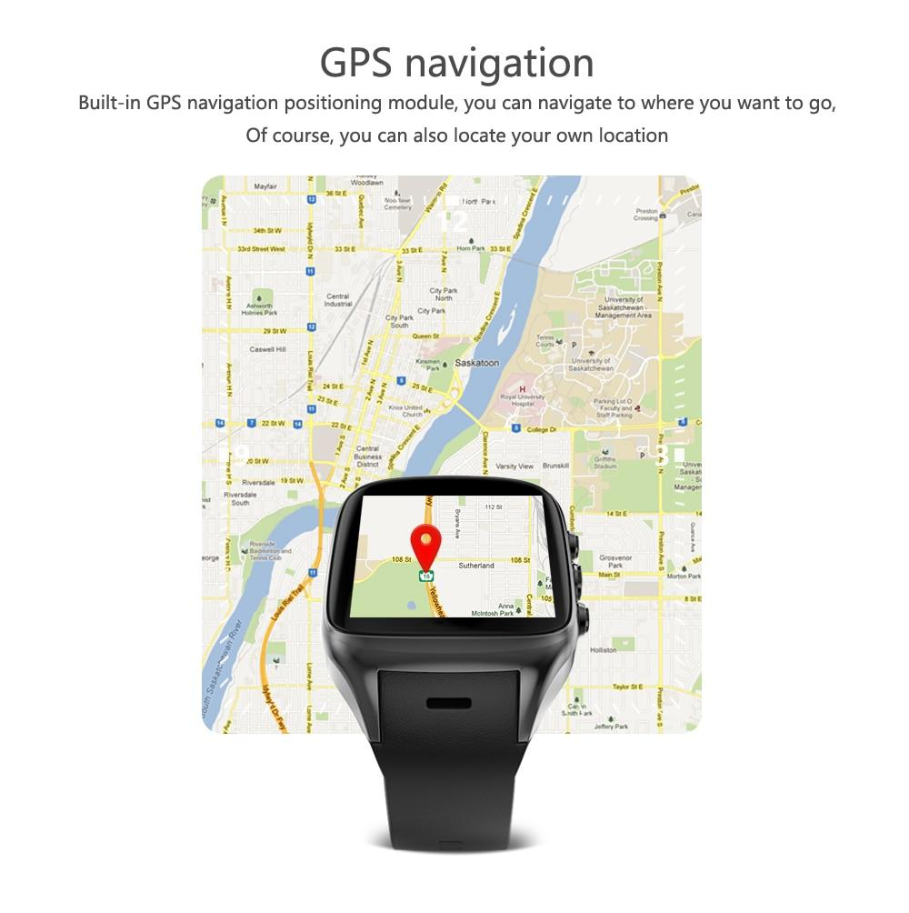 New 3G WiFi Android Smartwatch Phone Bluetooth Smart Watch 1 3GHz Dual Core  GPS Watch For iOS Android